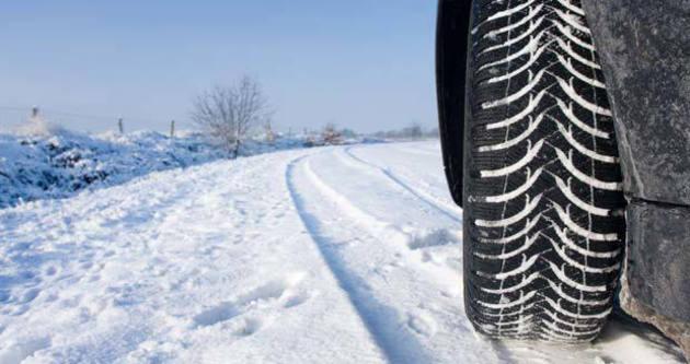 Kış lastiğine geçiş 1 Aralık'ta başlıyor