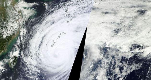 Japonya'da şiddetli tayfun: 35 yaralı