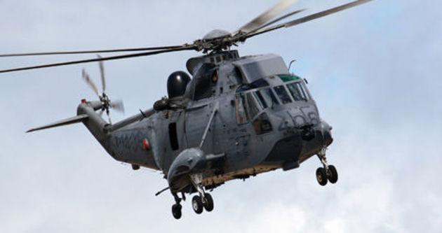 Deniz Kuvvetlerine Ait Sea Hawk S 70 Tipinde Helikopter Kay�p..