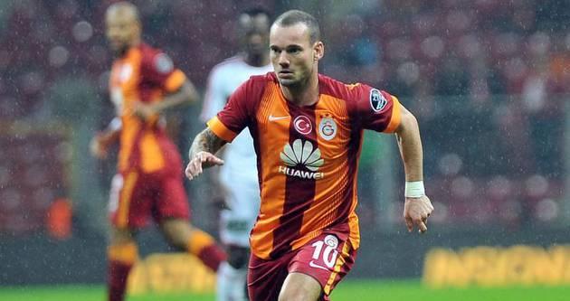 G.Saray'dan Sneijder açıklaması