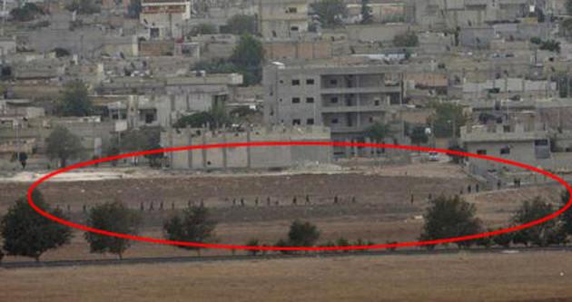 YPG, 30 IŞİD'liyi esir aldı!