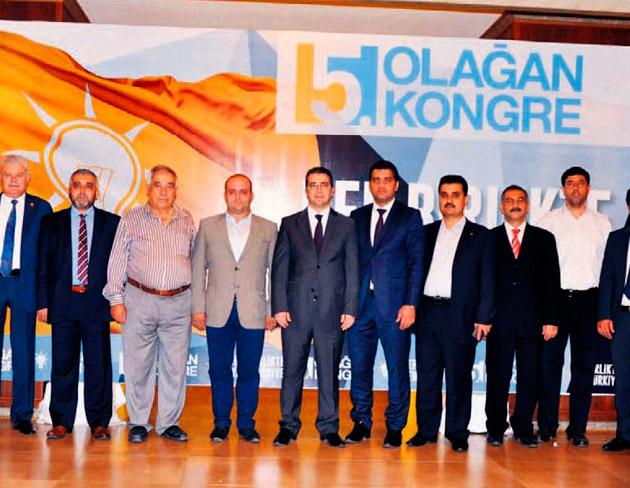 AK Parti Mersin'de kongre hazırlıkları devam ediyor