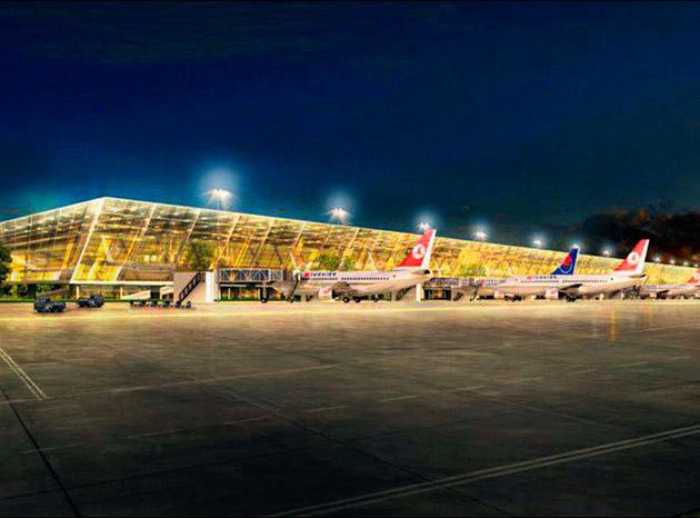 Havalimanı inşaatı yeniden başlayacak