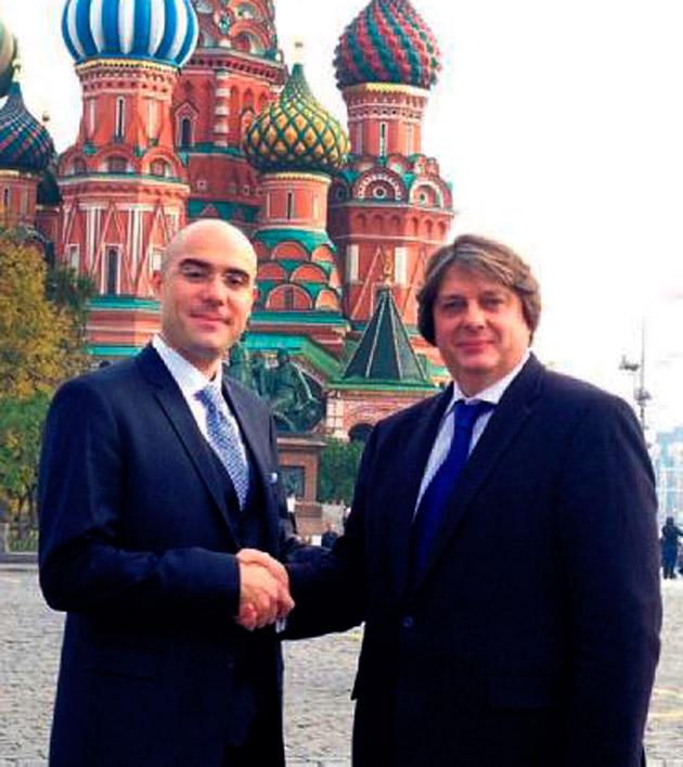 Keskinoğlu'nun Rusya hamlesi