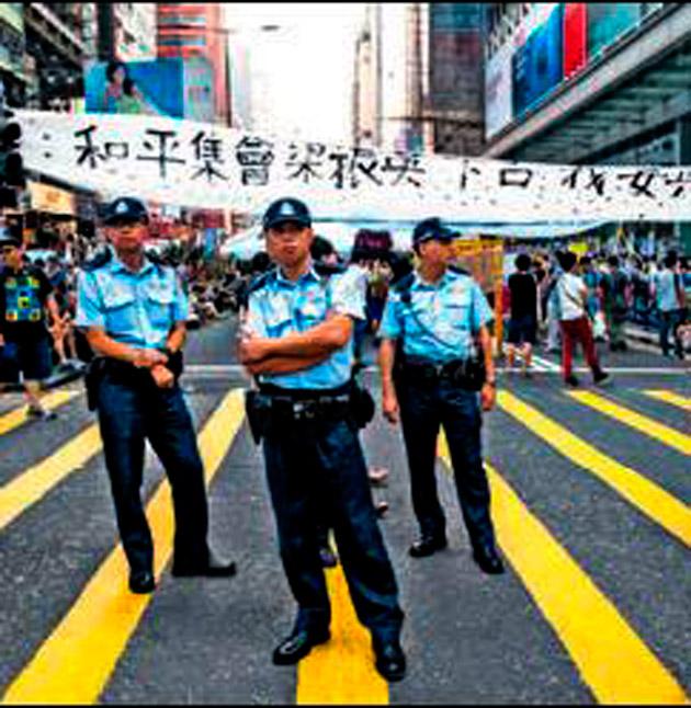 Hong Kong yönetimi: Hiç şansları yok