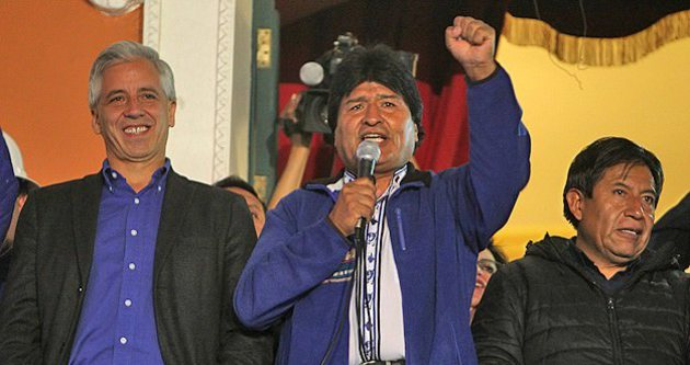 Bolivya'da Morales 3.kez devlet başkanı seçildi
