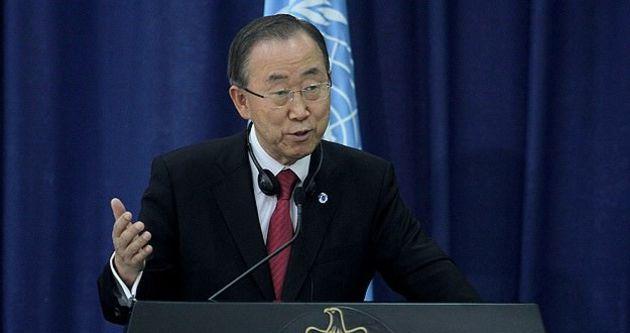 BM Genel Sekreteri Ban, Ramallah'ta