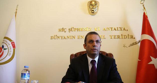 Antalya Valisi Türker, görevine başladı