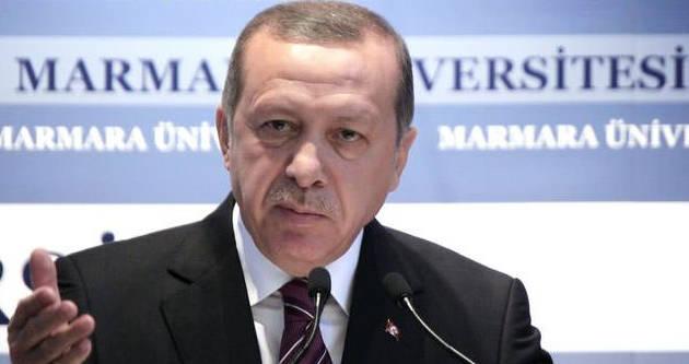 Erdoğan'ın sesinin yükseldiği o an