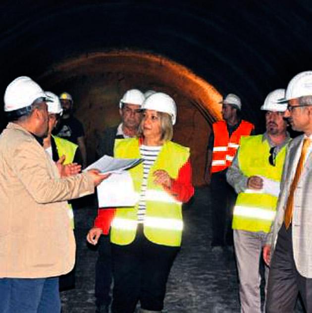 Konak Tünelleri son sürat ilerliyor