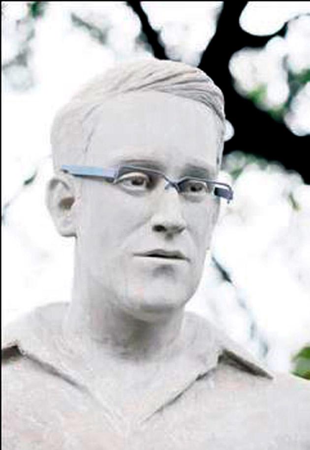 Snowden'in heykeli NY'de yer bulamadı