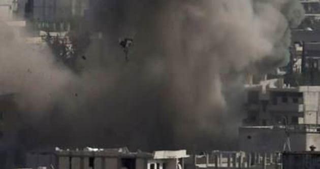 Kobani'ye intihar saldırısını bir Kürt düzenlemiş
