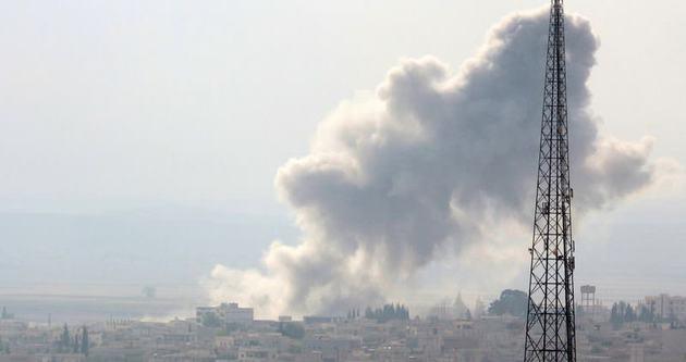 Kobani ateş altında