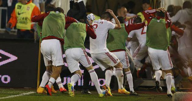 Euro 2016 Elemeleri'nde olaylı gece