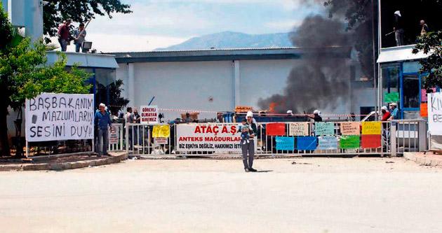Eylemci işçileri hapis bekliyor