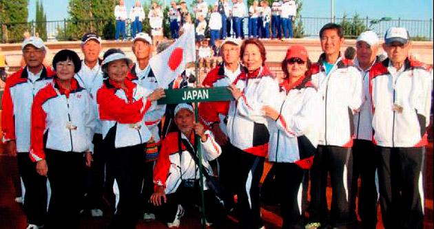 Manavgat'ta tenis şöleni