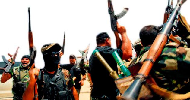 'Şii militanlar Sünni sivilleri katlediyo