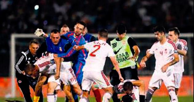 Euro 2016 Elemeleri'nde dün gece