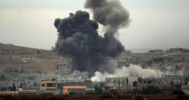 Kobani'de ibre dönüyor