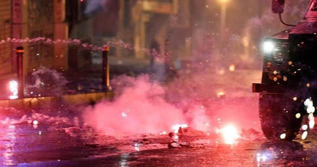 Polise Alman talimatı: Yakıp yıkan bitecek