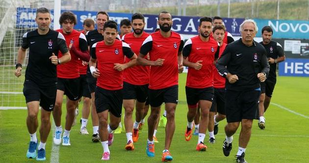 Trabzonspor'da, Mersin İdmanyurdu hazırlıkları