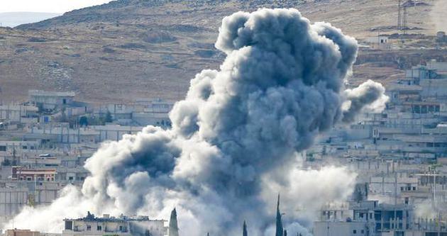 Mürşitpınar sınırı yakınında büyük patlama!