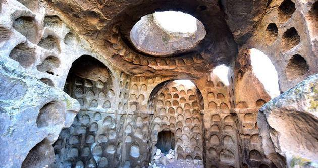 Kapadokya'nın saklı hazinesi Çanlı Kilise