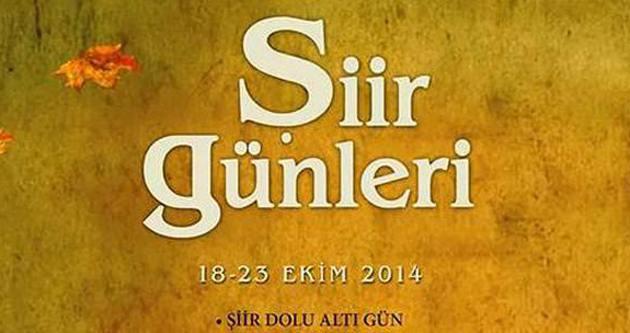 TYB İstanbul'da Şiir Günleri başlıyor