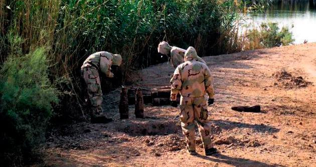 Saddam'ın kimyasalları IŞİD'de