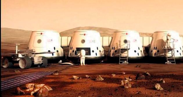 Mars'a gidenler 68 günde ölecek!