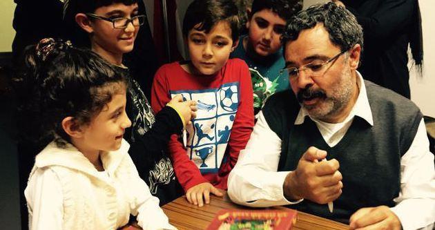 Türkiyeli yazarlar Belçikalı çocuklarla buluştu