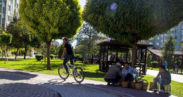 Bu şehirde 800 bin kişi bisiklete biniyor