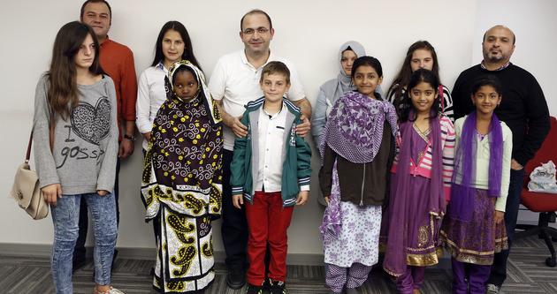 İHH'lı çocuklardan SABAH'a ziyaret