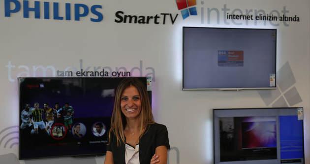 Philips televizyonları Türk'e emanet