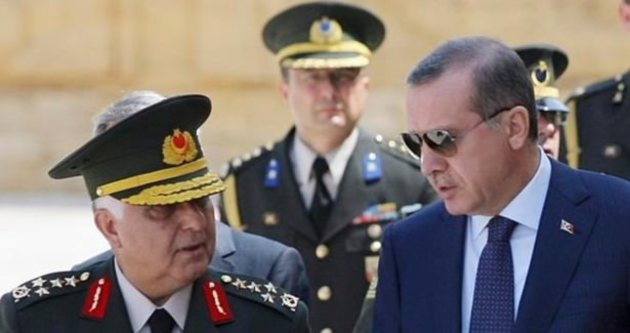 Erdoğan, Orgeneral Özel'i kabul etti
