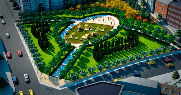 Altındağ'a 7 dev park