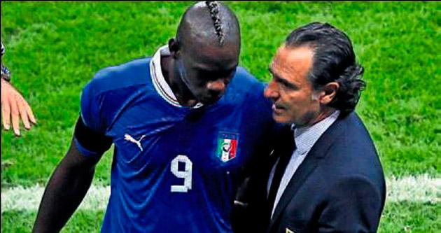 Balotelli: Prandelli harbi adam değil