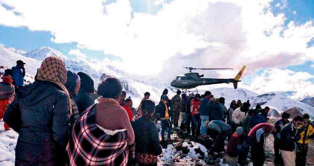Nepal'de facia büyüyor: 30 ölü