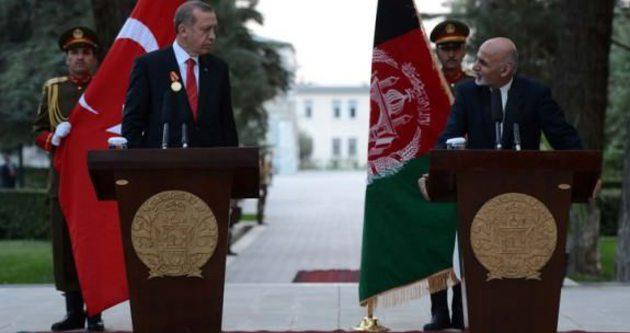 Erdoğan'a Afganistan'ın en büyük nişanı verildi