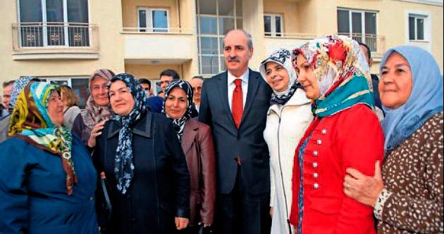 Numan Kurtulmuş'tan Burdur'da ev anahtarı