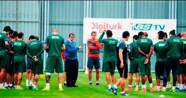 Bursasporlu futbolculardan büyük özveri