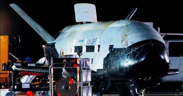 ABD'nin gizli uzay aracı 2 yıl sonra Dünya'da