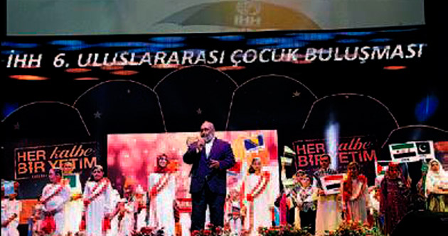 Dünya yetimleri Türkiye'de buluştu