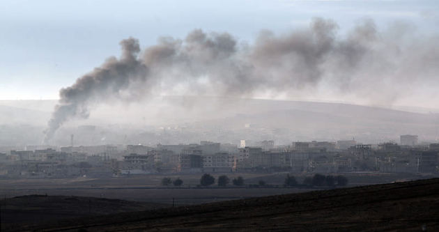 ÖSO, Kobani'de bir mahalleyi kontrol etti