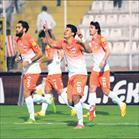 Derbide zafer Adanaspor'un