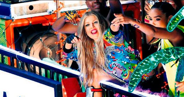 Fergie'nin otobüsü