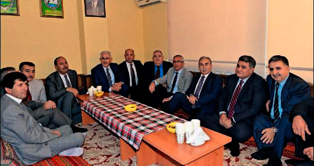 Avcıların yeni binasını Vali Mustafa Büyük açtı