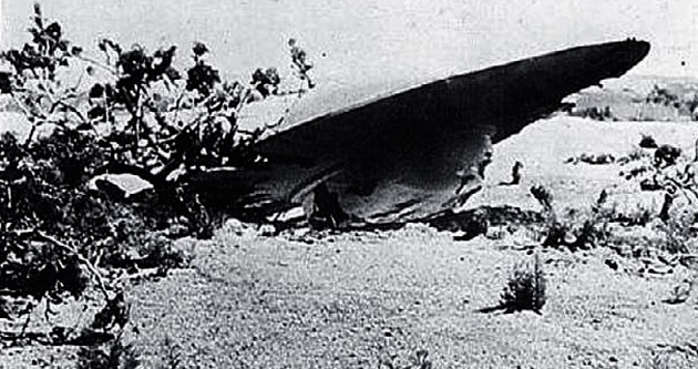 Roswell UFO'su Nazi roketiymiş