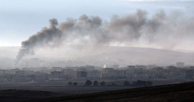 ABD'den Kobani'ye silah ve mühimmat!