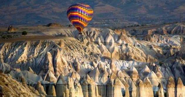 Kapadokya'da 4 gündür balonlar havalanamıyor